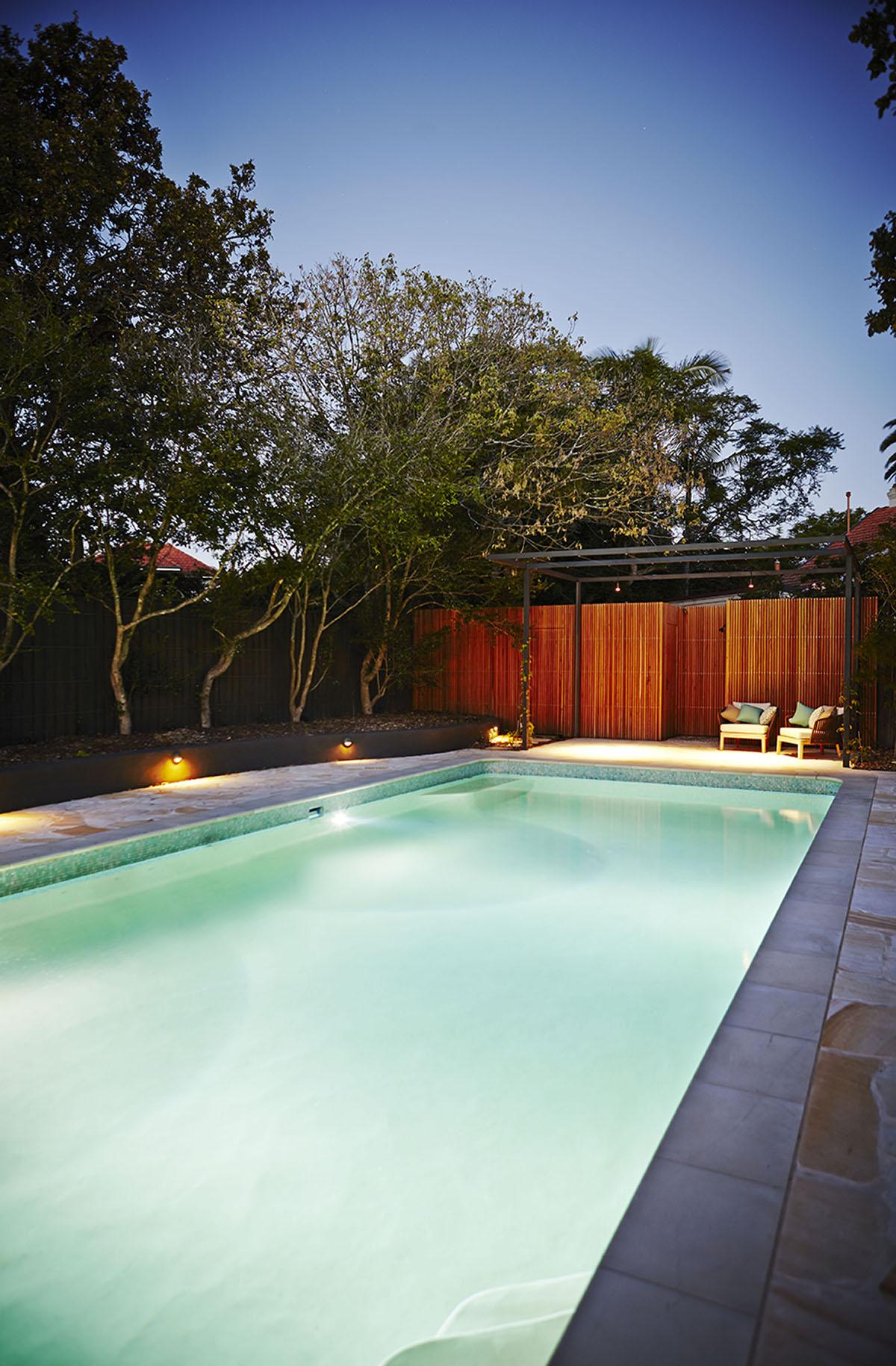 Family escape fifth season landscapes for Pool design roseville ca